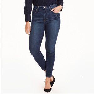 J. Crew Toothpick Skinny Jeans